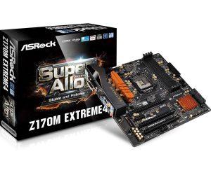 ASRock EXTREME4 MicroATX LGA 1151 Z170M Motherboard