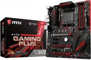 MSI Performance Gaming AMD X470 Ryzen 2 AM4 Motherboard