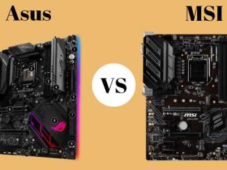 Asus vs MSI motherboard