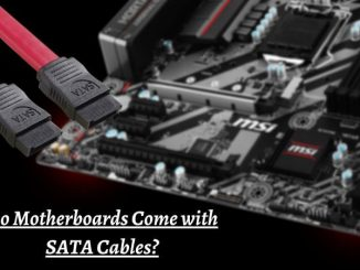 Motherboards Come with SATA Cables